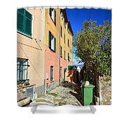 San Rocco In Camogli Shower Curtain