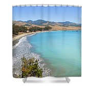 San Simeon Bay Shower Curtain