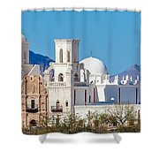 San Xavier Del Bac Mission Shower Curtain