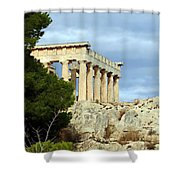 Sanctuary Of Aphaia 2 Shower Curtain