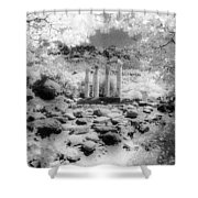 Sanctuary Of Gods And Goddesses Shower Curtain