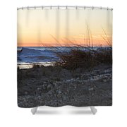 Sand And Ice Shower Curtain