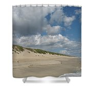 Sand And Sea Shower Curtain