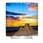 Sand Castle 1 Shower Curtain