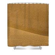 Sand Curves Shower Curtain