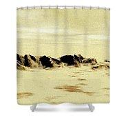 Sand Desert Shower Curtain