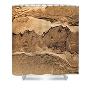 Sand Dog Shower Curtain