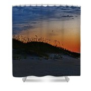 Sand Dune Sunrise Shower Curtain