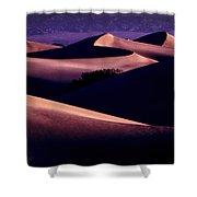 Sand Dunes At Sunrise Shower Curtain