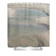 Sand Formations Shower Curtain