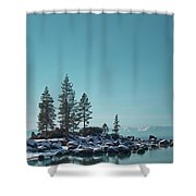 Sand Harbor-lake Tahoe Shower Curtain
