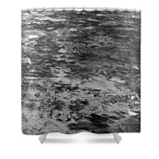 Sand In Low Tide Shower Curtain