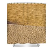 Sand Layers Shower Curtain