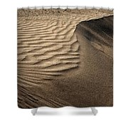 Sand Pattern Abstract - 2 Shower Curtain