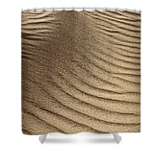 Sand Pattern Abstract - 3 Shower Curtain