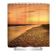 Sand Ripples Shower Curtain