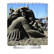 Sand Sculpture 1 Shower Curtain