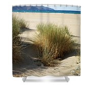 Sand Sea Mountains - Crete Shower Curtain