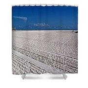 Sand Trails Shower Curtain