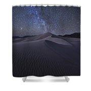 Sandbox Under The Stars Shower Curtain