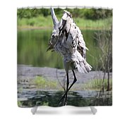Sandhill Jumping Shower Curtain
