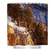 Sandia Peak Summit Albuquerque New Mexico Shower Curtain
