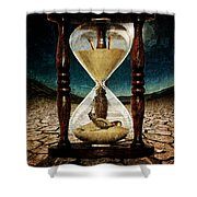 Sands Of Time ... Memento Mori  Shower Curtain