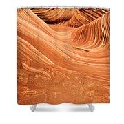 Sandstone 3d Shower Curtain
