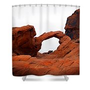 Sandstone Arch Valley Of Fire Shower Curtain