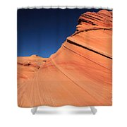 Sandstone Bands Shower Curtain
