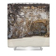 Sandstone Cave Shower Curtain by Douglas Barnard
