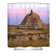 Sandstone Grassland Badlands South Shower Curtain