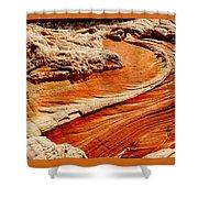 Sandstone Highway Shower Curtain