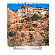 Sandstone Hills Shower Curtain
