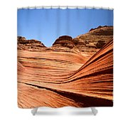 Sandstone Ledge Shower Curtain