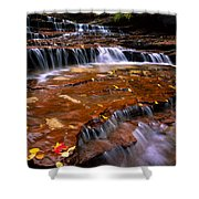 Sandstone Ledge Shower Curtain