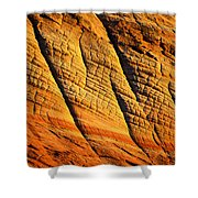 Sandstone Of Time Shower Curtain