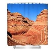 Sandstone Rainbow Shower Curtain