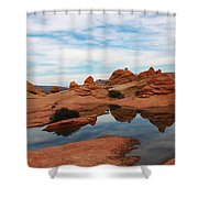 Sandstone Reflections 2 Shower Curtain