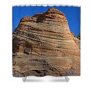 Sandstone Rock Formation Zion National Park Utah Shower Curtain