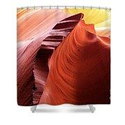 Sandstone Spectacular Shower Curtain