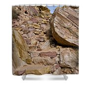 Sandstone Steps Shower Curtain