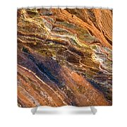 Sandstone Tapestry Shower Curtain