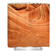 Sandstone Tide Shower Curtain