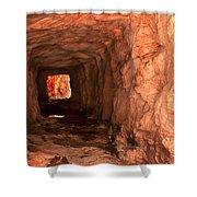 Sandstone Tunnel Shower Curtain