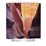 Sandstone Veils Shower Curtain