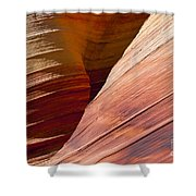 Sandstone Wave Formations Shower Curtain