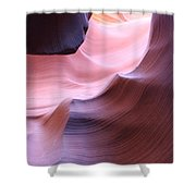 Antelope Canyon Sandstone Waves Shower Curtain