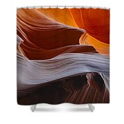 Sandstone Waves Shower Curtain