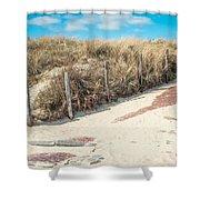 Sandy Dunes In Holland Shower Curtain